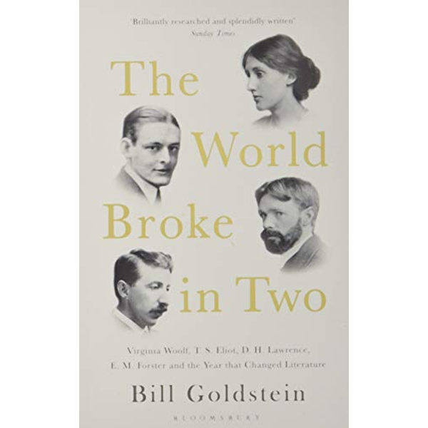 The World Broke in Two Virginia Woolf, T. S. Eliot, D. H. Lawrence, E. M. Forster and the Year that Changed Literature Paperback / softback 2018
