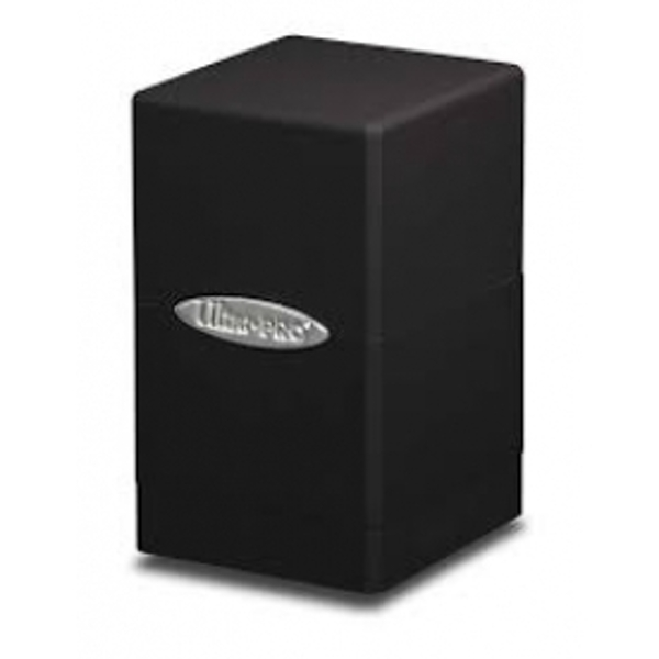 Ultra Pro Black Satin Tower Deck Box