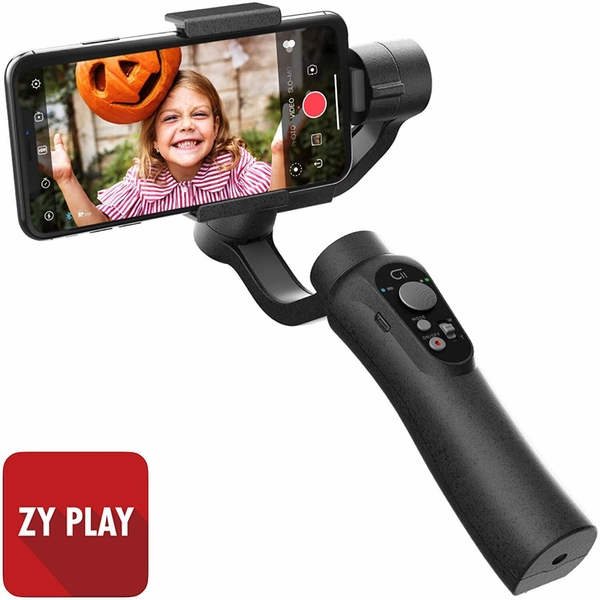 Image of CINEPEER C11 3-Axis Handheld Gimbal Stabilizer for Smartphone