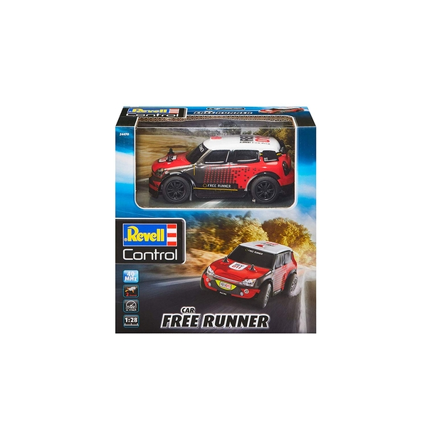 RC Red Free Runner Revell Control Car