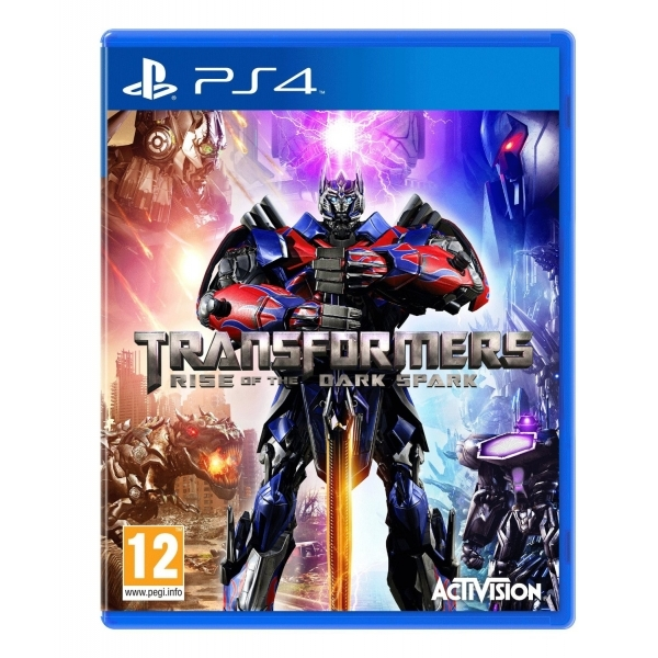 Transformers Rise Of The Dark Spark PS4 Game