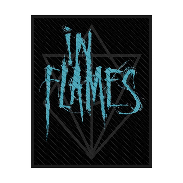 In Flames - Scratched Logo Standard Patch