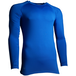 Precision Essential Base-Layer Long Sleeve Shirt Adult Royal - Small 34-36 Inch - Image 2