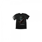 BLOODBORNE A Hunters Bloody Tool T-Shirt, Large, Black