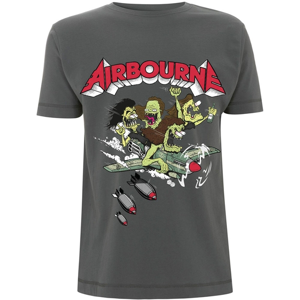 Airbourne - Nitro Unisex Small T-Shirt - Green
