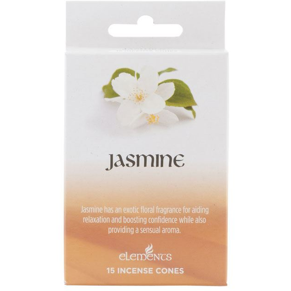 12 Packs of Elements Jasmine Incense Cones
