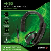 Gioteck XH50 Wired Mono Gaming Headset Green (PS4/Xbox One/PC)