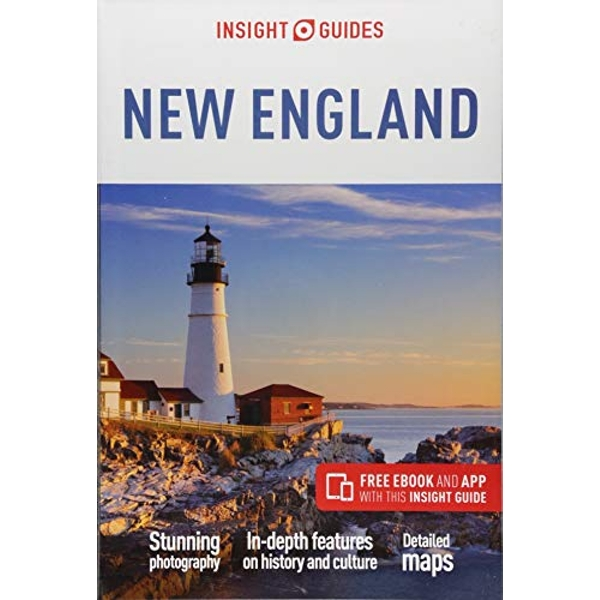 Insight Guides New England (Travel Guide with Free eBook)  Paperback / softback 2018