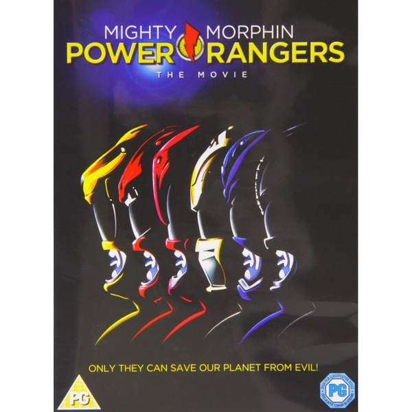 Power Rangers - The Movie DVD