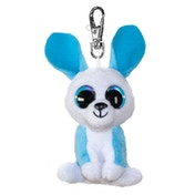Lumo Stars Mini Keyring Bunny Ice Plush Toy