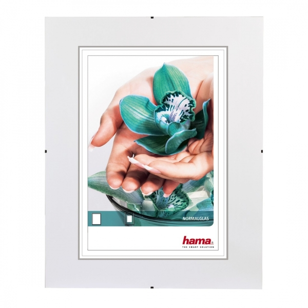 Clip-Fix Frameless Picture Holder Normal glass (20x20cm)