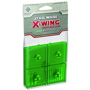 Star Wars X-wing Bases and Pegs Accessory Pack - Green Board Game