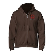 God of War - Serpent Logo Men's Small Full Length Zipper Hoodie - Brown