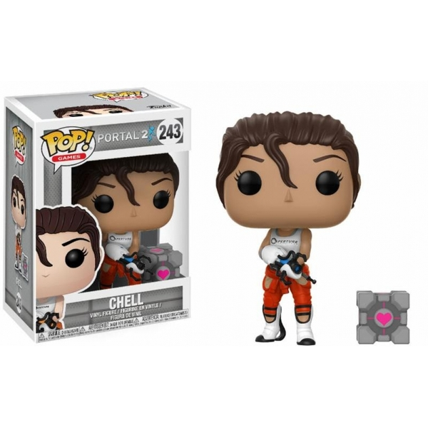92941c61b1e Hey! Stay with us... Chell with Portal Gun (Team Fortress 2) Funko Pop! Vinyl  Figure