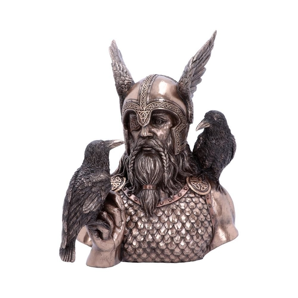 Odins Messengers Norse God Bust