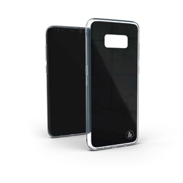 "Hama ""Glass"" Cover for Samsung Galaxy S8+, black"