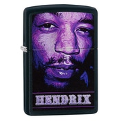 Zippo Jimi Hendrix Black Matte Windproof Lighter