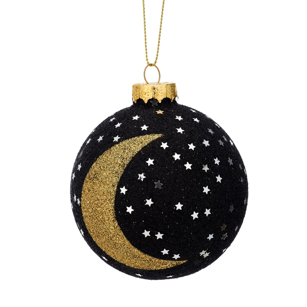 Sass & Belle Glitter Stars and Moon Bauble