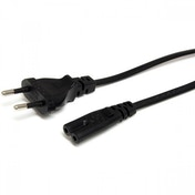 StarTech 1m Standard Laptop EU to C7 Power Cable Lead (EU Plug)