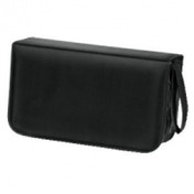Hama CD Wallet Nylon 120 Black - 00033833
