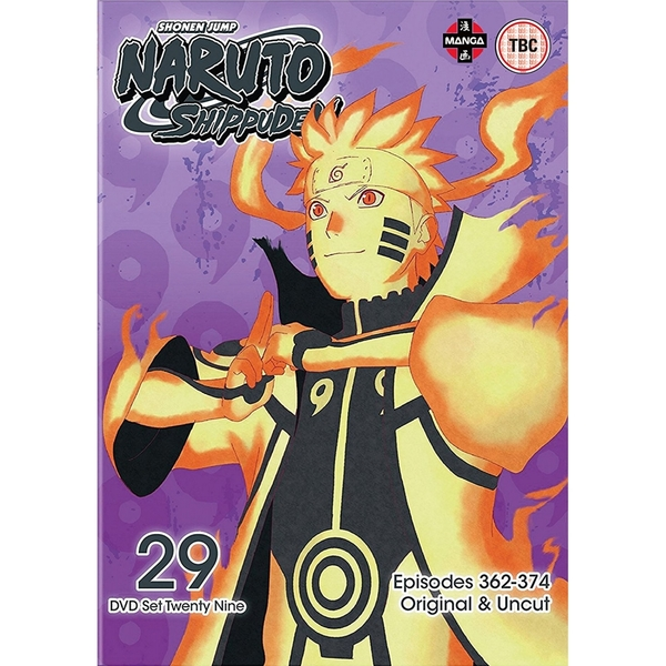 Naruto Shippuden Box 29 (Episodes 362-374) DVD