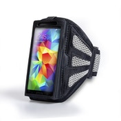 YouSave Accessories Samsung Galaxy S5 Sports Armband - Grey/Black