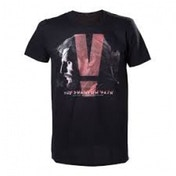 Metal Gear Solid V Phantom Pain Adult Male Box Cover X-Large T-Shirt - Black