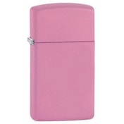 Zippo Slim Pink Matte Windproof Lighter