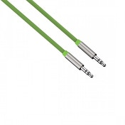 Color Line (Green) Audio Cable Aluminium 1m