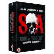Sons of Anarchy Season 1-5 DVD