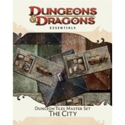 Dungeons & Dragons Dungeon Tiles Master Set The City