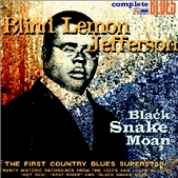 Blind Lemon Jefferson Black Snake Moan CD