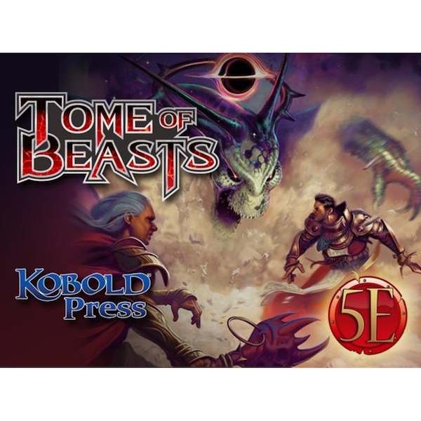 Tome of Beasts 5E Hardcover - ozgameshop com