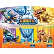 Pop Fizz, Trigger Happy, and Whirlwind (Skylanders Giants) Triple Character Figure Pack A