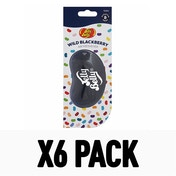 Wild Blackberry (Pack Of 6) 3D Gel Jelly Belly Air Freshener