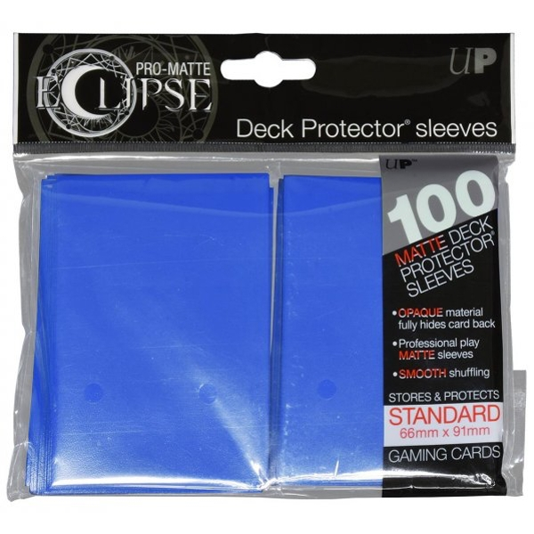Ultra PRO-Matte Eclipse Pacific Blue 100 Standard Sleeves (6 Packs)
