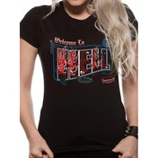 Supernatural Welcome to Small T-Shirts