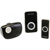 Lloytron B7506BK Melody Plug-in & B/O Wireless Door Chime with MiPs Black