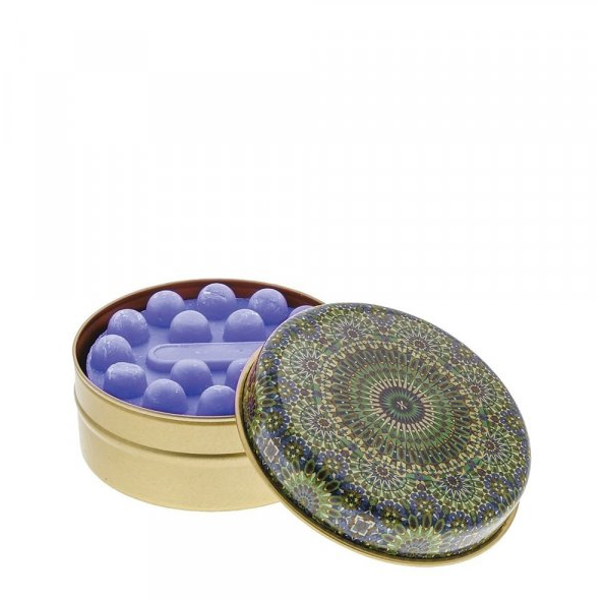 Dark Green and Blue Kaleidoscope with Lavender Soap