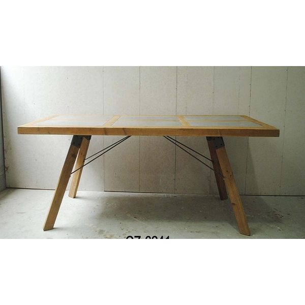 Large Wooden Table Kd Packed By Heaven Sends