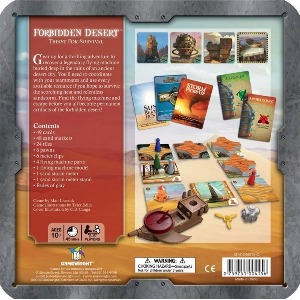 Forbidden Desert Board Game - Image 2