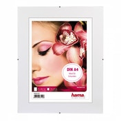 Clip-Fix anti-reflect glass Frameless Picture Holder  (21x29.7cm A4)