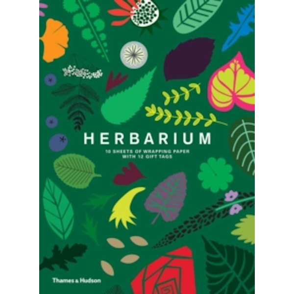 Herbarium: Gift Wrapping Paper Book : 10 Sheets of Wrapping Paper with 12 Gift Tags