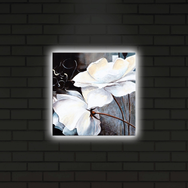 2828DACT-2 Multicolor Decorative Led Lighted Canvas Painting