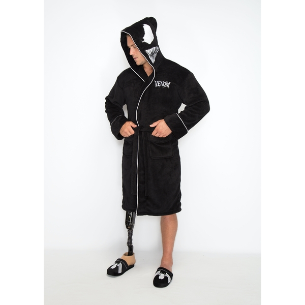 Marvel Venom Adult Fleece Bathrobe