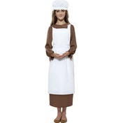 Victorian Kit with Apron and Mop Cap