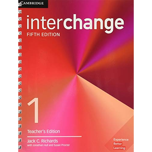 Interchange Level 1 Teacher's Edition with Complete Assessment Program  Mixed media product 2017