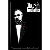 The Godfather Red Rose Maxi Poster