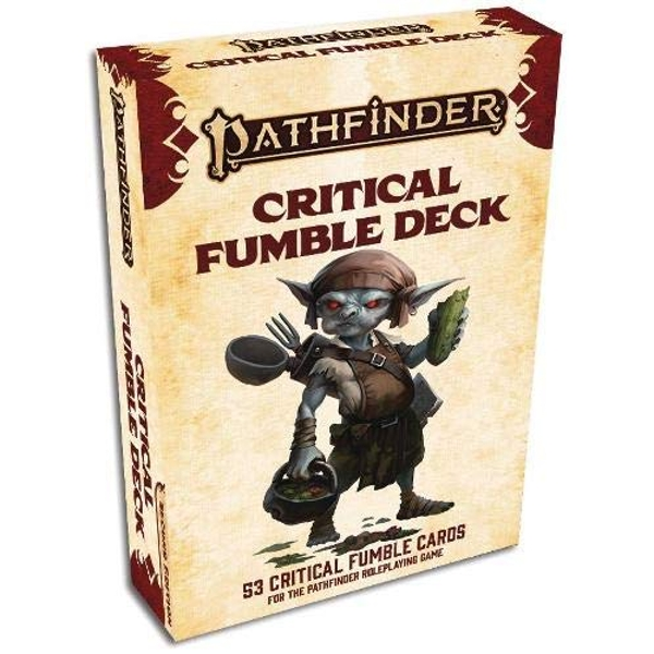 Pathfinder RPG Second Edition - Critical Fumble Card Deck