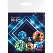 Doctor Who Retro Badge Pack